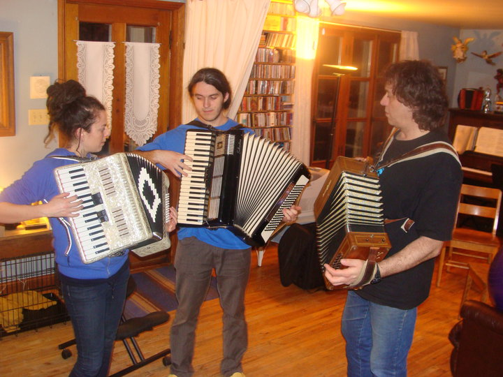 Accordion is a family thing