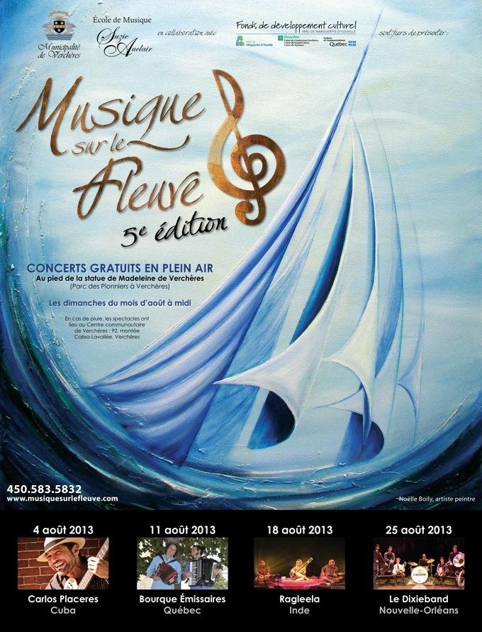 """""""Musique sur le fleuve"""" Festival"""